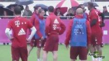 Bayern Münih antrenmanında kavga