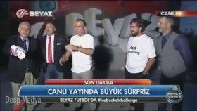 Ahmet Çakar'ın Canlı Yayında Als Kavgası - Beyaz Futbol
