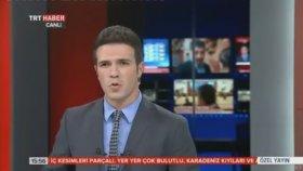 TRT Spikeri Tijen Karaş Canlı Yayında Fena Yakalanması