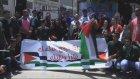 Filistinliler ayrım duvarını protesto etti