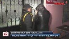 Adana'da Evli Çifte Grup Seks Tutuklaması