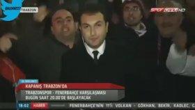 Trabzonspor Taraftarlarının Canlı Yayında Küfür Etmesi