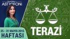TERAZİ burcu haftalık yorumu 25-31 Mayıs 2015