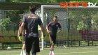 G.Saraylı futbolcular Suarez ve Drogbaya meydan okudu!