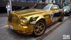 Altın Kaplama Rolls Royce