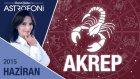 AKREP burcu aylık yorumu Haziran 2015