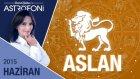 ASLAN burcu aylık yorumu Haziran 2015
