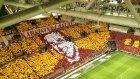 Galatasaray- Beşiktaş derbisinde muhteşem koreografi