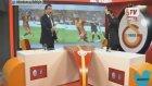 Sneijder attı  GS tv spikeri kendinden geçti