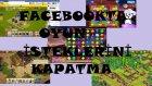 Facebook Oyun-Uygulama İsteklerini Kapatma ve Engelleme