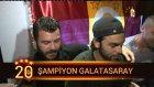 Şampiyonluk sonrası Galatasaraylı futbolcular