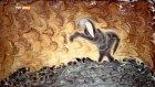 Battal Gazi'nin Ebru Sanatıyla Sureti