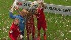 Şampiyon Bayern Münih kupasını aldı