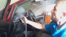 Buharlı araç detay iç temizliği