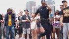 ABD Polisinden Tekno Dans Gösterisi