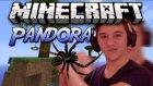 ÖRÜMCEK SALDIRDI :D - Minecraft Pandora Survival - Bölüm 1