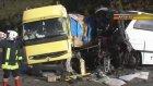 Antalya'da otobüs ile tır çarpıştı, 5 ölü