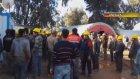 200 işçi birbirine girdi, 50 yaralı