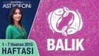 BALIK burcu haftalık yorumu 1-7 Haziran 2015