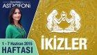 İKİZLER burcu haftalık yorumu 1-7 Haziran 2015