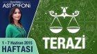 TERAZİ burcu haftalık yorumu 1-7 Haziran 2015