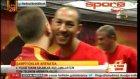 Galatasaray otobüsü Türk Telekom Arena'ya böyle geldi!
