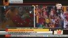 Galatasaray'ın Otobüsünden Futbolcuların Tezahüratları