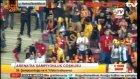 Galatasaraylı taraftarların büyük coşkusu!