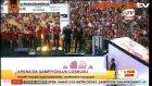 Türk Telekom Arena'da şampiyonlar geçidi!