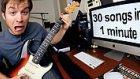 1 Dakikada 30 Farklı Şarkı Çalan Adam