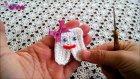 Bebek Diş Partisi için Örgü Diş Yapılışı