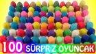 Oyun Hamuru 100 Sürpriz Yumurta Oyuncak Açımı