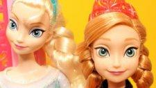 Karlar Ülkesi Frozen - Kraliçe Elsa Prenses Anna market alışverişi - EvcilikTV Oyuncak Videoları