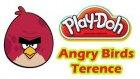 Play Doh Oyun Hamuru Angry Birds Terrence Yapımı
