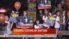 Uluslararası Lösemili Çocuklar Haftasında Boğaziçi Köprüsü turuncuyla aydınlatıldı..