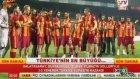 Galatasaraylı futbolcuların şampiyonluk pozu