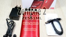 Zenfone 2 ZE551ML Kutu Açılımı - Unboxing