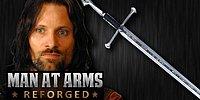 Gerçek Hayatta Aragorn'un Kılıcı Efsane Anduril'i Yapmak