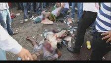 HDP Diyarbakır Mitingi Patlama Anı ve Yaralılar