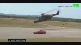 Helikopter ile Porsche Yarış Yapması!