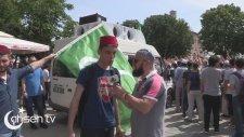 İngiliz İşgali Altındayız Diyen Arsenal Tişörtlü Genç