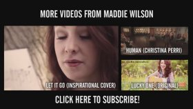 Magic - Coldplay (Acoustic Cover) by Maddie Wilson