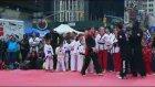 Times Meydanı'nda Tekvando Festivali