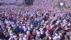 Papa Saraybosna'yı ziyaret ediyor