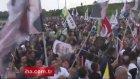 Atatürk, Apo, Türk ve PKK Bayrağı Yanyana HDP Kutlaması