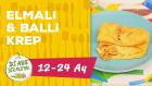12-24 Aylık Bebekler İçin Elmalı & Ballı Krep Tarifi