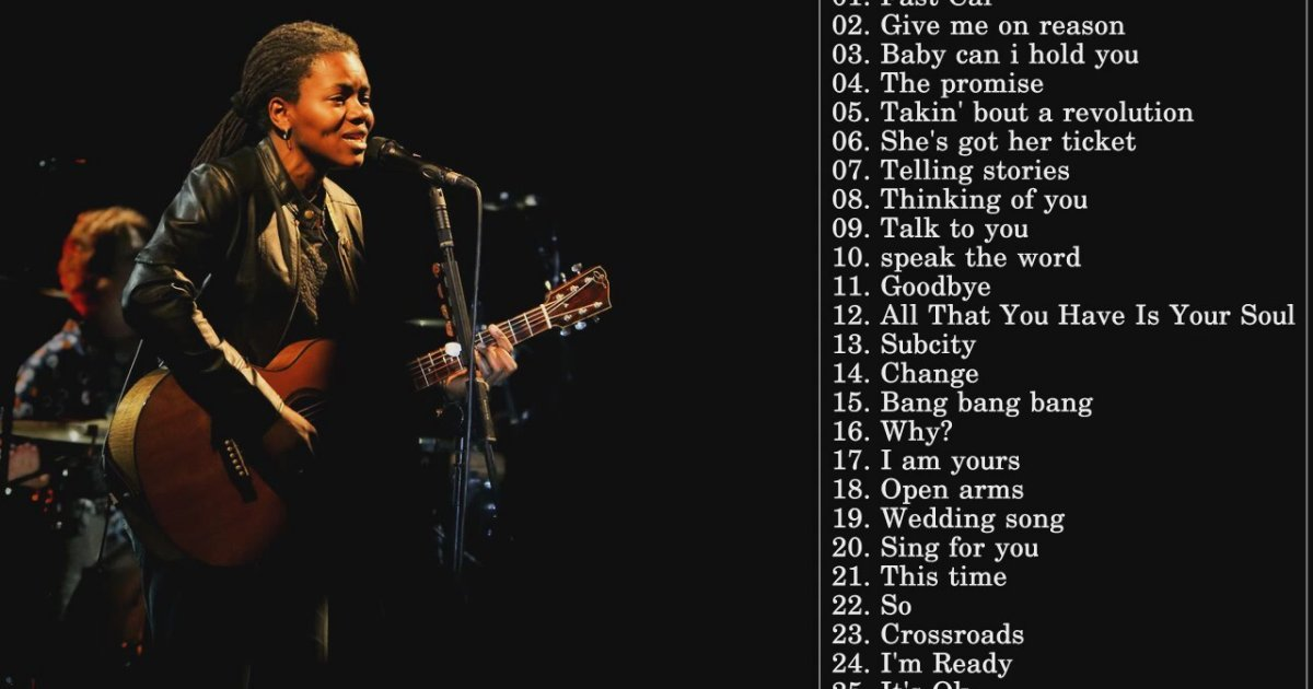 the award winning journey of tracy chapmans music Singer-songwriter tracy chapman took over the music charts in the release of tracy chapman, including three grammy awards in grammy award–winning.