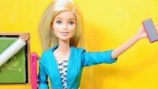 Barbie Öğretmen Duygu ilk Ders - EvcilikTV Barbie Oyuncakları Videoları