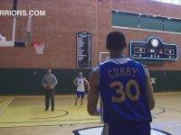 Üçlük Yarışması - Curry vs. Coach Jackson
