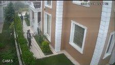 Bmw X6 ile ev soymaya gelen hırsız